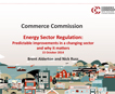 Energy Sector Regulation - Commerce Commission